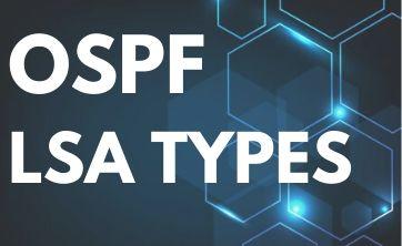 ospf lsa types