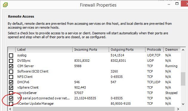vmware esxi csr1000v firewall