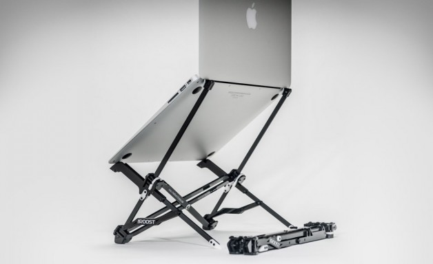 roost laptop stand review image - the best folding laptop stand out there
