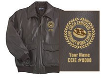 ccie leather jacket