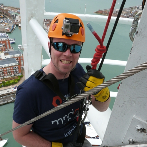 roger perkin abseil spinnaker tower