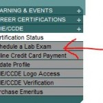 book ccie lab exam