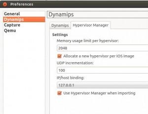 gns3 hypervisor manager ubuntu