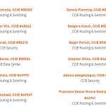 INE CCIE Wall of Success