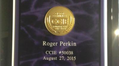 ccie plaque 2015 roger perkin ccie 50038