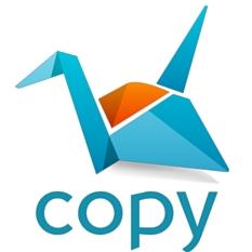 copy free cloud storage logo