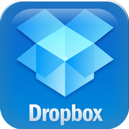 box cloud icon. dropbox free cloud storage logo box icon