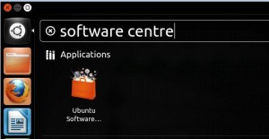 ubuntu software centre