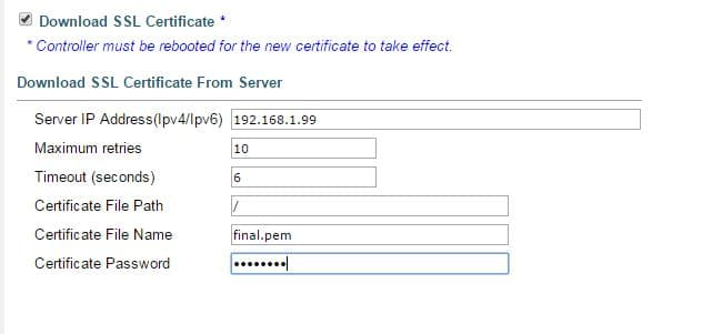Install 3rd Party SSL Certificate for Guest Access Cisco WLC