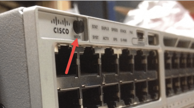 cisco catalyst 3850 password recovery mode button