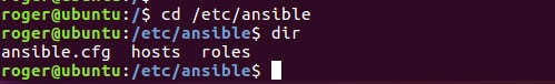 ansible folder structure