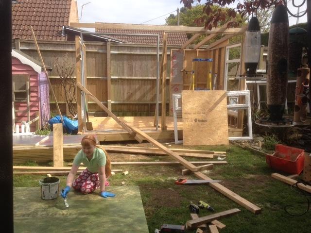 office in garden build