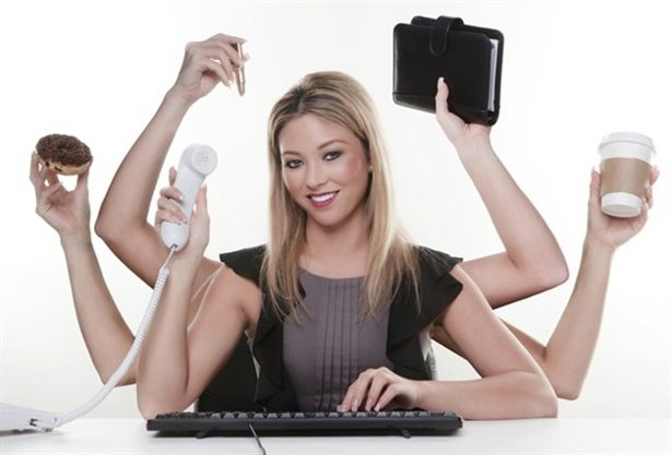 multiasking lady study tips post