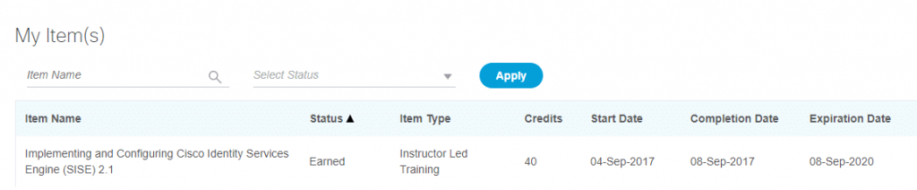 CCIE Recertification Continuing Education Program - First 40 Credits!