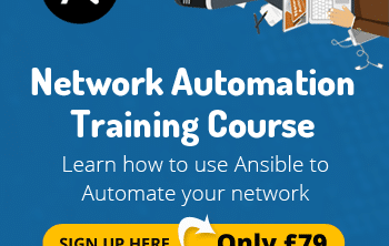 ansible for network engineers course