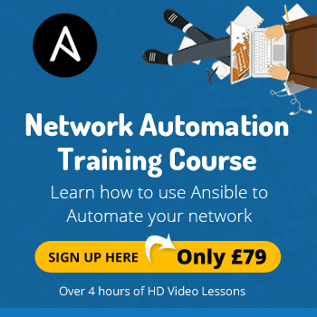 ansible network automation training
