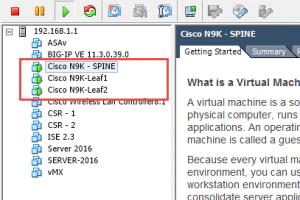 Cisco VXLAN Configuration Lab using Nexus 9000V DCNM & Ansible
