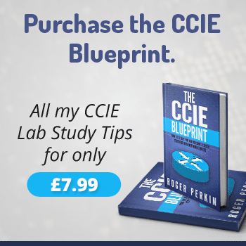 the ccie blueprint