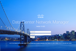 Cisco Data Center Network Manager Installation Tutorial