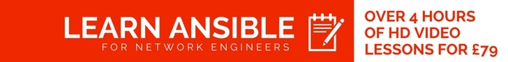 learn ansible for network engineers
