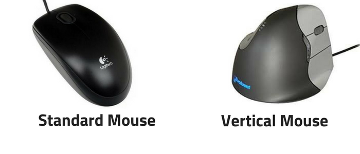 vertical ergonomic mouse evoluent 4