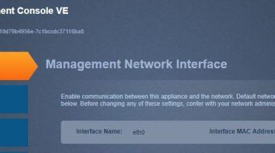 stealthwatch management console ve network setup