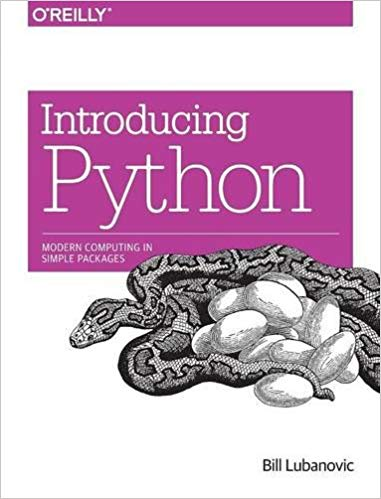 introducing Python book the best way to learn python