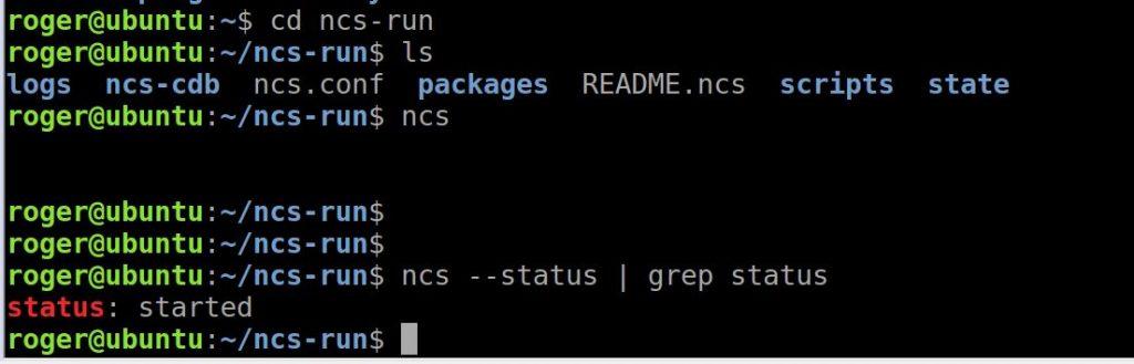 cisco nso installation guide ubuntu ncs start