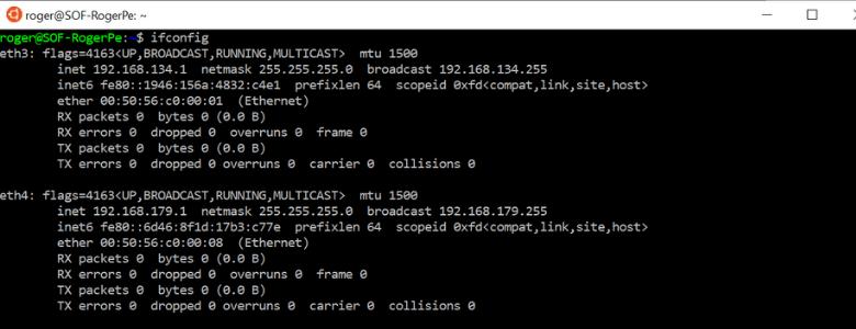 ubuntu running on windows 10