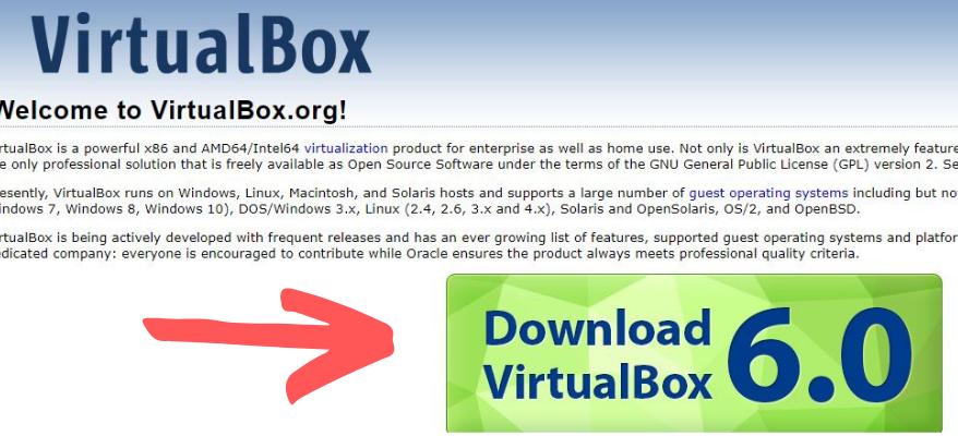 virtualbox download