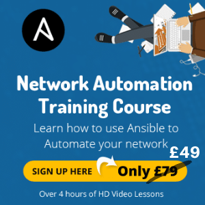 ansible for network engineers training course