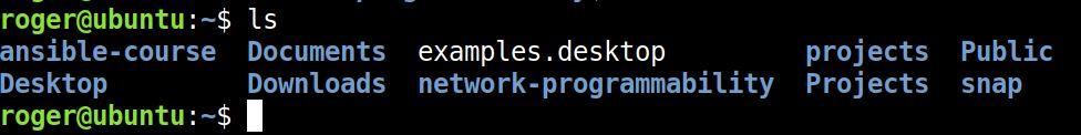 ubuntu home directory