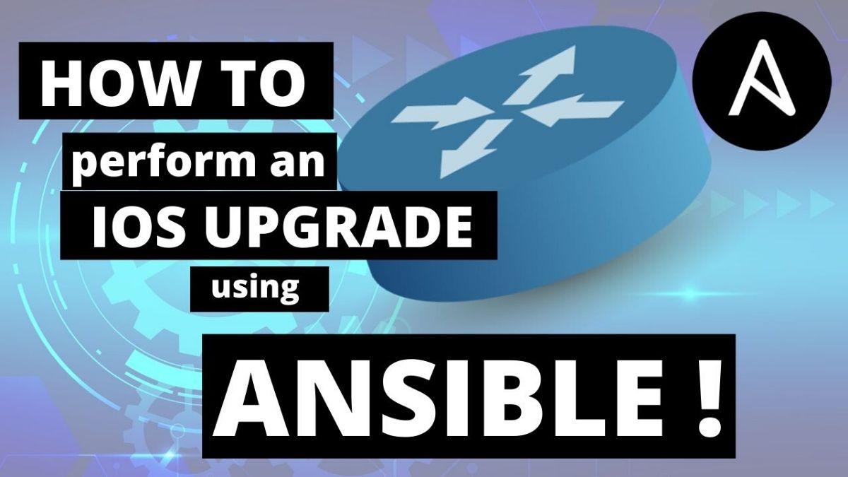 ansible cisco ios upgrade