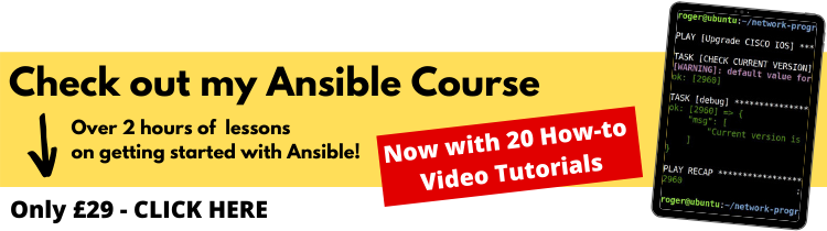 ansible training course