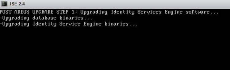 cisco ise upgrade vmware