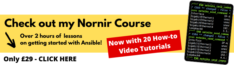 nornir training course banner