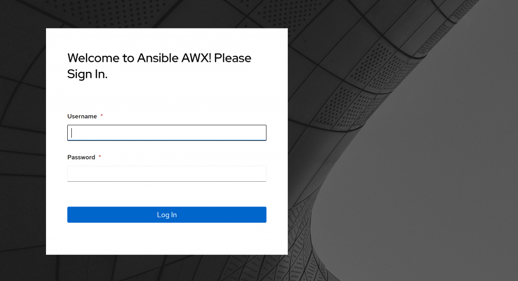 Welcome to Ansible AWX